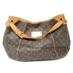 100% Auth Louis Vuitton Galleria GM Monogram Hobo